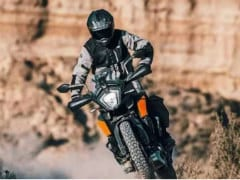 KTM 250 Adventure Spied Testing In India