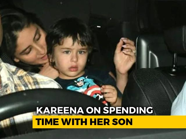 'Grateful To Have So Much Time With My Son': Kareena Kapoor Khan