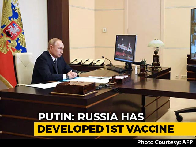 "Video : Russia Claims 1st Covid Vaccine ""Sputnik V""; Putin's Daughter Inoculated"