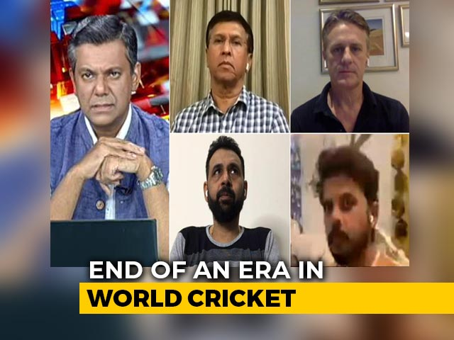 Video : MS Dhoni Retires: End Of An Era In World Cricket