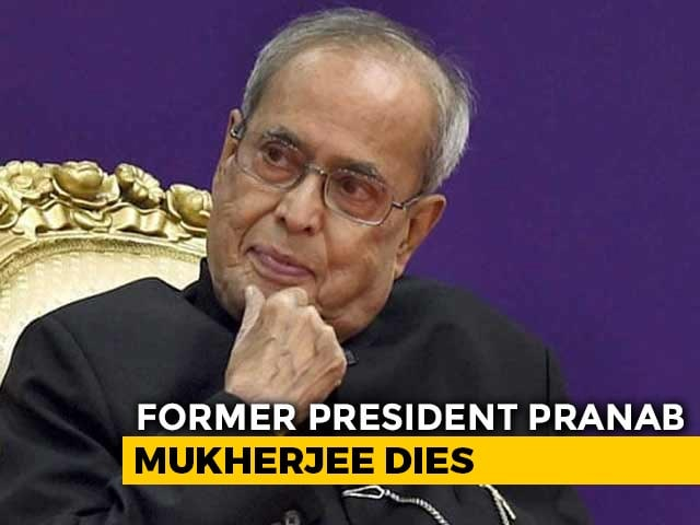 Video : India Mourns Pranab Mukherjee's Death, Worst GDP Fall And Other Top Stories