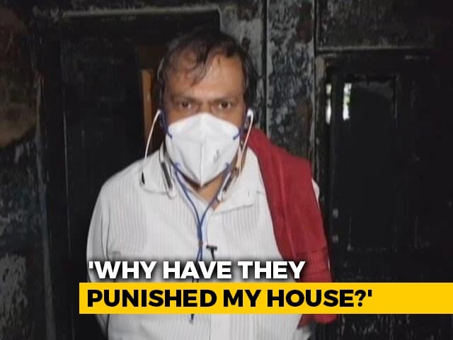 """Video : """"Why Burn My House,"""" Asks Congress MLA After Bengaluru Violence"""