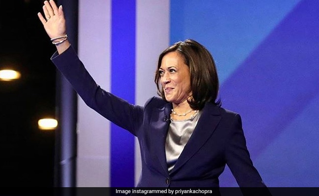 How Celebs Reacted To Kamala Harris' Historic Vice Presidential Candidacy