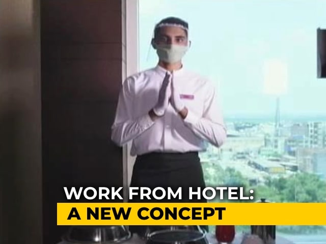 Video : Work From Hotel: Hospitality Industry Reinvents Itself In Pandemic-Era