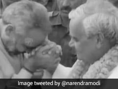 PM Tweets Montage Of Old Pics, Videos In Memory Of Atal Bihari Vajpayee