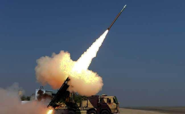 Government Signs Rs 2,580 Crore Pact For Pinaka Rocket Launcher Systems
