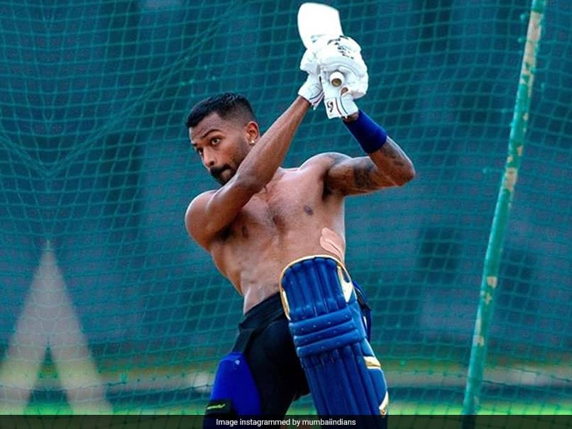 """Kung Fu Pandya At Work"": Hardik Pandya Gears Up For IPL 2020. See Pics"