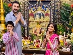"Ganesh Chaturthi 2020 - ""<I>Ganpati Bappa Morya</i>"": From Shilpa Shetty And Sonali Bendre To Fans"