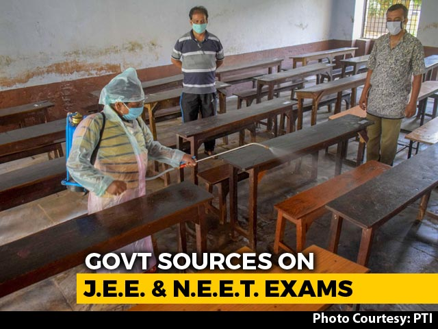Video : No Postponing JEE, NEET, Say Government Sources, As Admit Cards Out