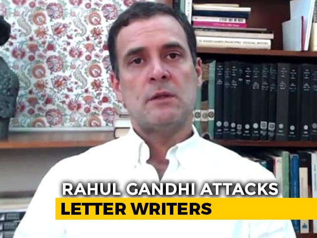 Video : Rahul Gandhi Leads Charge Against Dissenters At Congress Meet