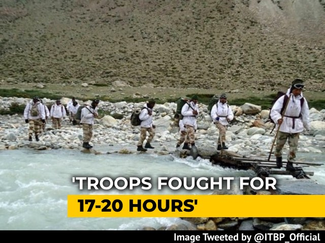 Video : Troops Fought For 17-20 Hours With Chinese In Ladakh: Border Force ITBP