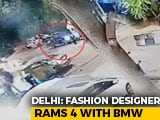 Video : Fashion Designer Rams 3 With BMW In South Delhi, Caught On Video