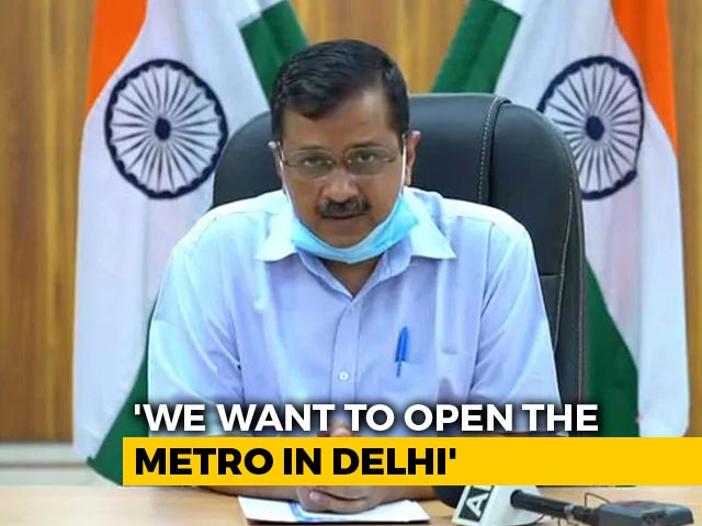 """Video : """"Treat Delhi Differently, Resume Metro On Trial Basis"""": Arvind Kejriwal To Centre"""