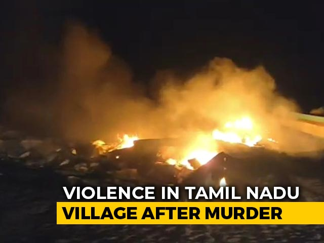 Video : 43 Detained After Clashes In Tamil Nadu Over A Murder, Boats Set Ablaze