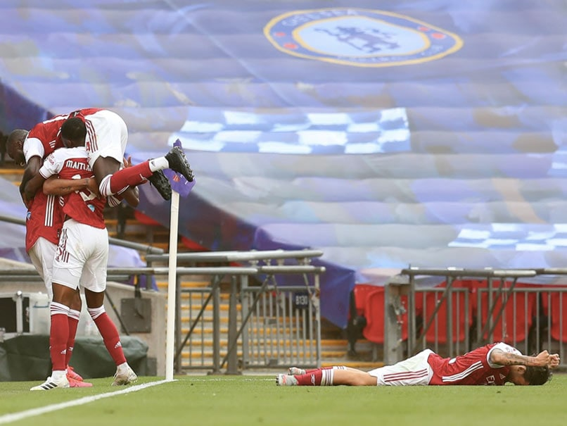 FA Cup: Arsenal Beat Chelsea 2-1 At Wembley To Win Their 14th FA Cup