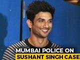 Video : Sushant Singh Rajput Had Bipolar Disorder, Was On Medication: Mumbai Cops