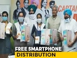 Video : 1.73 Lakh Punjab Students Given Free Mobile Handsets