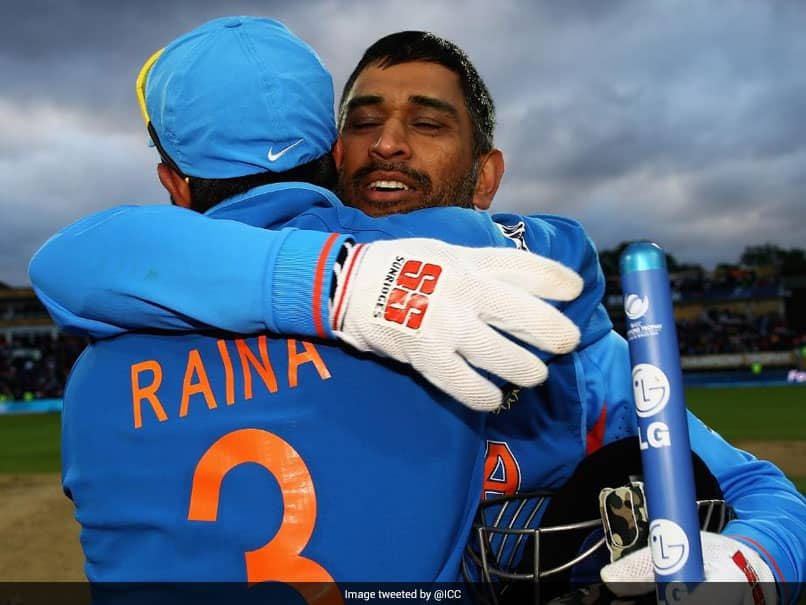 """""""What A Duo"""": ICC Pays Tribute To MS Dhoni-Suresh Raina Partnership"""