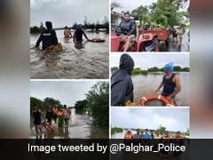 Maharashtra Minister Praises Palghar Police For Rain Rescue Ops