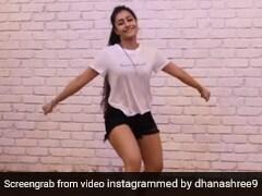 क्रिकेटर युजवेंद्र चहल की मंगेतर Dhanashree Verma का 'दारू बदनाम' पर ताबड़तोड़ डांस- देखें Video
