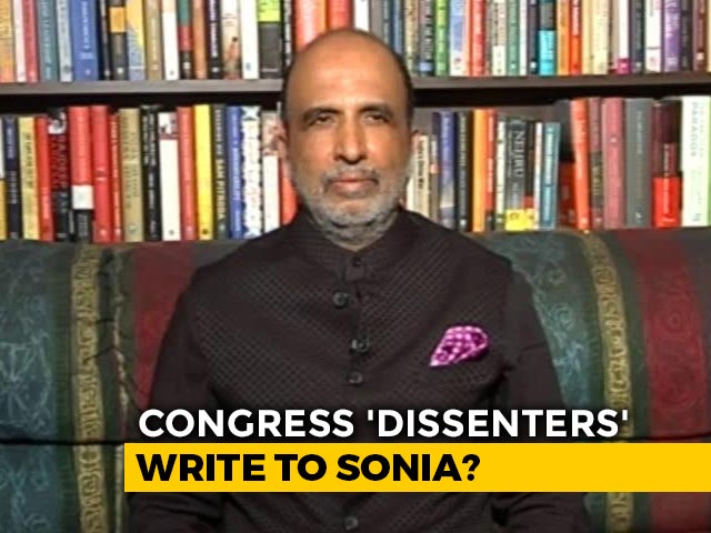 Video : Congress Denies Letter To Sonia Gandhi Asking For Leadership Change