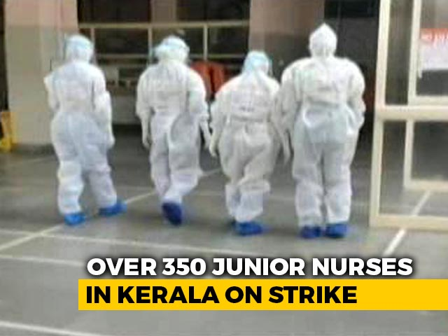 Video : Intern Nurses At Kerala Medical Colleges Strike Over Pay Hike Demand Amid Pandemic