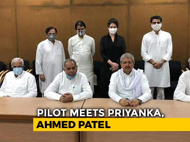 Video : Congress Forms 3-Member Team To Address Sachin Pilot's Complaints