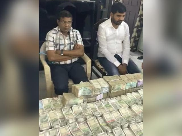 Video : Rs 1.1 Crore, Cash, Recovered From Telangana District Official's Home