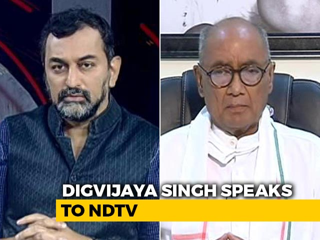Video : Why Say There Is No Internal Democracy In Congress: Digvijaya Singh