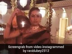 'ओ वुमनिया' गाने पर सरगुन मेहता ने लगाए ठुमके, पति रवि दुबे ने शेयर किया VIDEO