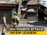 Video : J&K Sarpanch, A BJP Leader, Shot Dead By Terrorists