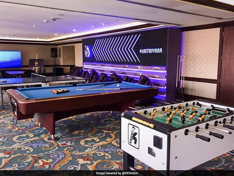 IPL 2020: Kolkata Knight Riders Give Sneak Peek Into Team Room In Abu Dhabi. See Pictures
