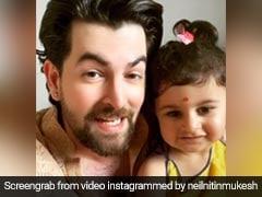 नील नीतिन मुकेश की बेटी ने लहंगा पहनकर किया क्यूट डांस, VIDEO ने सोशल मीडिया पर मचाई धूम