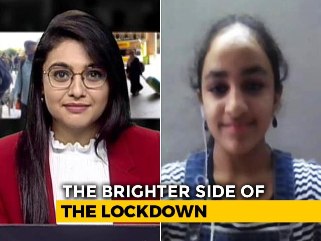 Video : 11-Year-Old Sneha Sridhar Talks About Shooting, Editing Her Lockdown Freedom Tale
