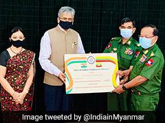 India Gives $5 Million To Myanmar For Border Area Development Projects