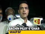 Video : Truce Done, Sachin Pilot Heads To Jaipur; Upset Ashok Gehlot To Jaisalmer