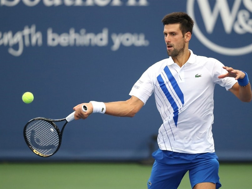Us Open Novak Djokovic In Action On Day One Tennis News