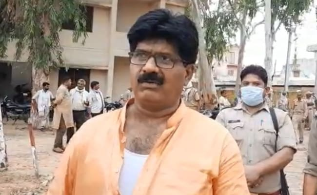 BJP MLA Alleges Manhandling By Cops; Party Workers Protest Outside UP Police Station