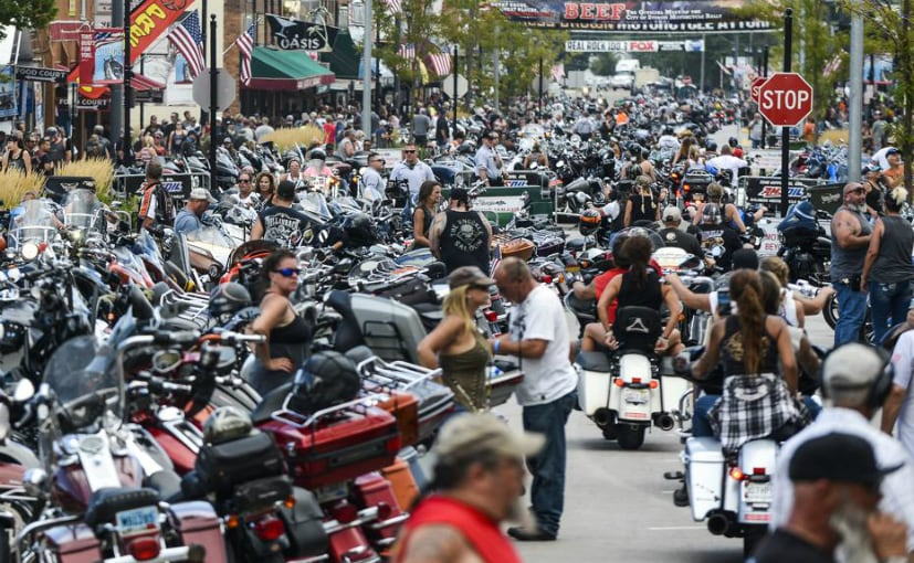 The 80th annual Sturgis Motorcycle Rally is being held in the small South Dakota city in the US
