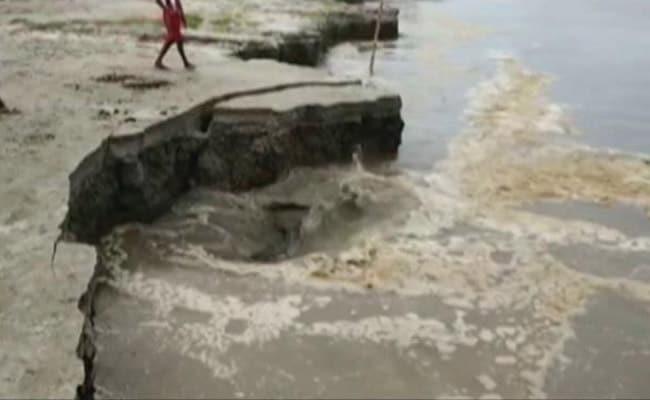 After Floods, Parts Of Assam Battle Massive Riverbank Erosion