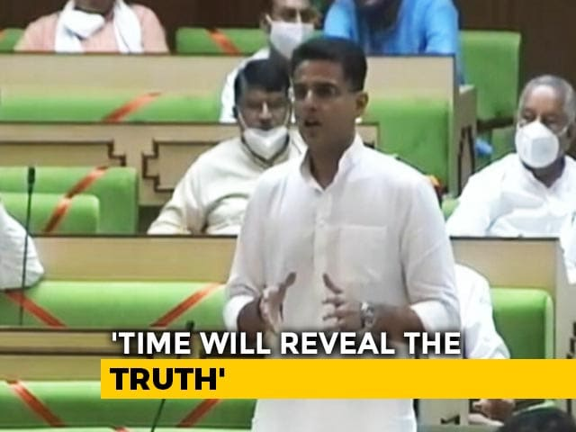 "Video : ""Strongest Warrior Sent To Border"": Sachin Pilot, No Longer In Front Row"