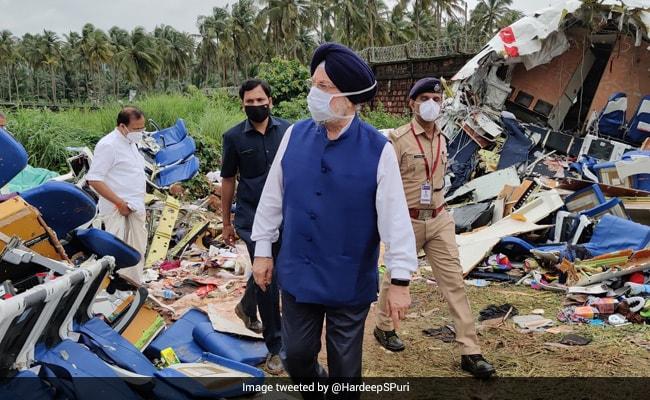 'Heartfelt Condolences', Says Hardeep Singh Puri On Kerala Plane Crash