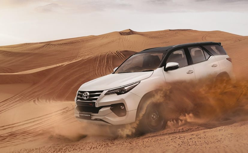 Bookings for the new Toyota Fortuner TRD Limited Edition have begun across India