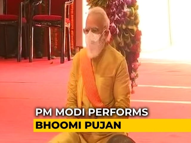 Video : Lord Ram Belongs To Everyone: PM Modi At Ayodhya Event