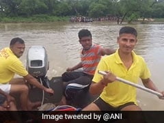 Pregnant Woman Among Three Rescued From Flooded Odisha Village
