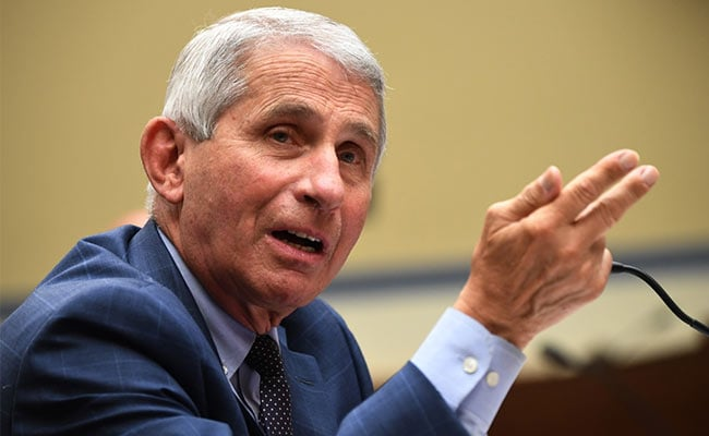 Top US Expert Anthony Fauci Apologises For Casting Doubt Over UK's Pfizer Vaccine Approval