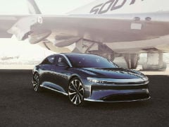 Lucid Air Beats The Tesla Model S In A Quarter Mile Race