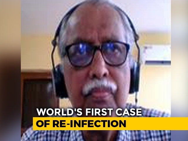 Video : World's First Confirmed Case Of Reinfection From Hong Kong