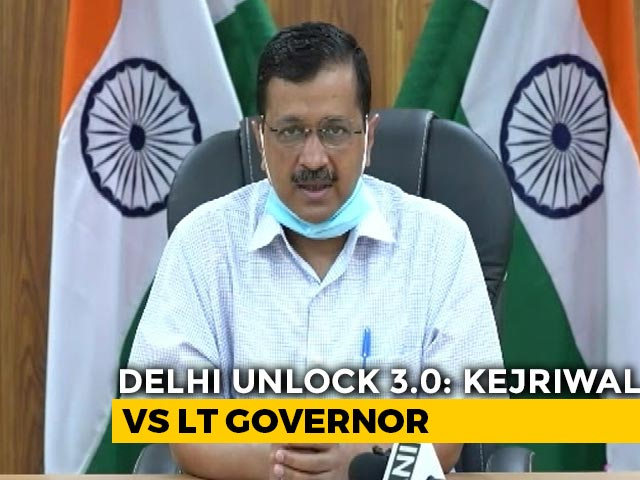 Video : Snubbed Twice, Arvind Kejriwal's 3rd Proposal To Lt Governor Over Unlock3