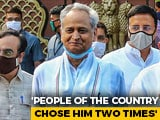 "Video : ""End This <i>Tamasha</i>"": Ashok Gehlot To PM Modi On Rajasthan Crisis"